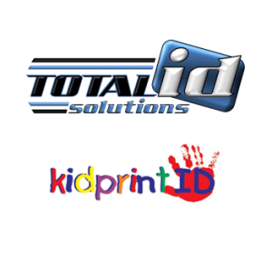 total id solutions and kidprint logos