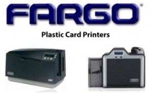 fargo plastic card printers with logo