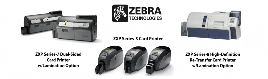 Zebra plastic card printers image