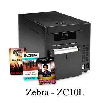 Zebra ZC10L Large-Format card printer thumbnail image