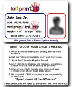 Child Identification Systems