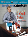 total id solutions on cover of business solutions magazine thumbnail image