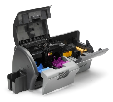 open view of ZXP 7 card printer